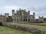 Lowther Castle - general view (2)